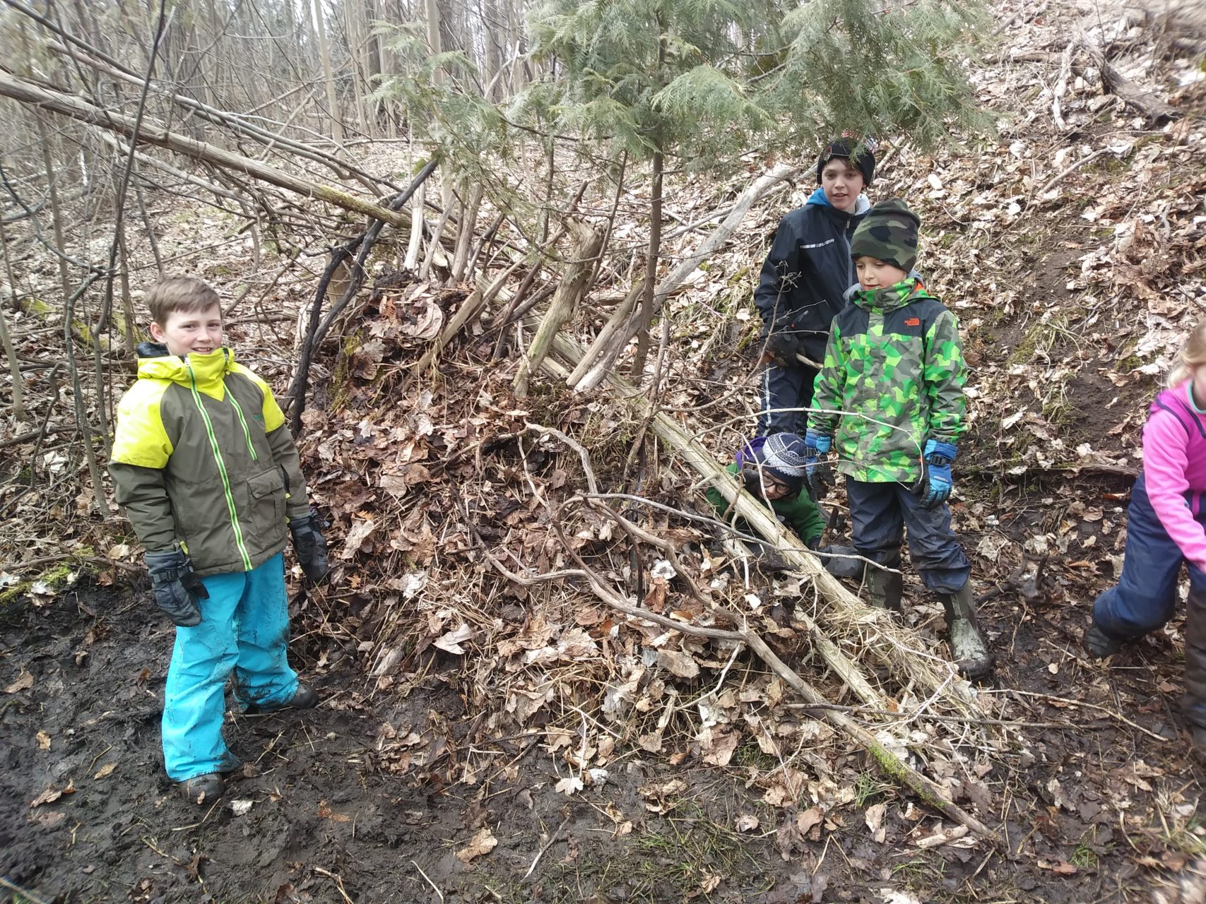 Catching Wind, Carving Spoons and Creating Shelter